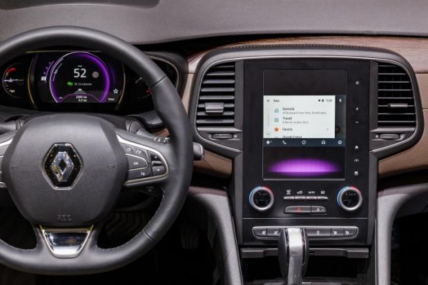 Wskazówki Waze w samochodach Renault