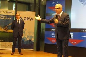 Prezes Polwaksu o rewolucji w spółce