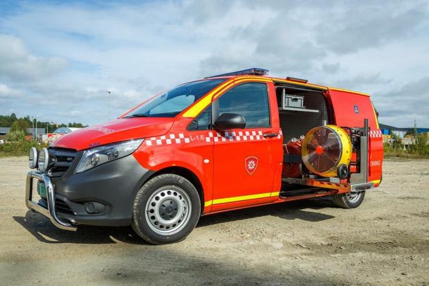 Polskie samochody trafiły do norweskiej straży