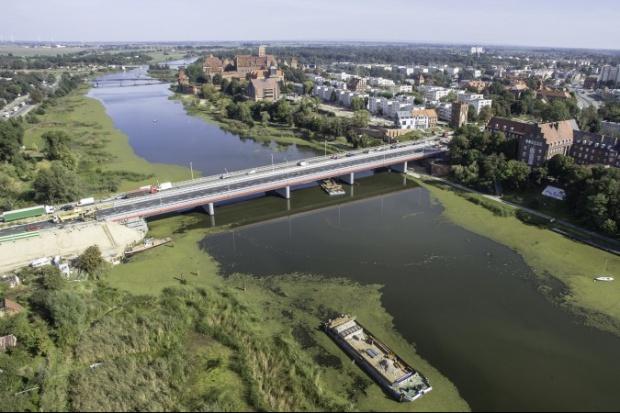 Strabag ukończył nowy most przez Nogat w Malborku