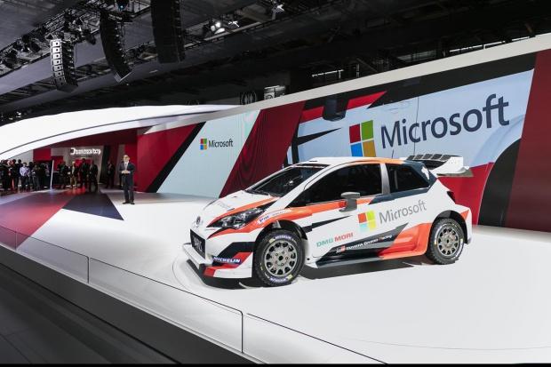 Toyota i Microsoft łączą siły w FIA WRC