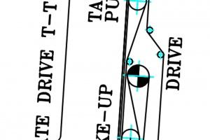 Schemat-przewinięcia-taśmy-w-przenośniku-w-upadowej