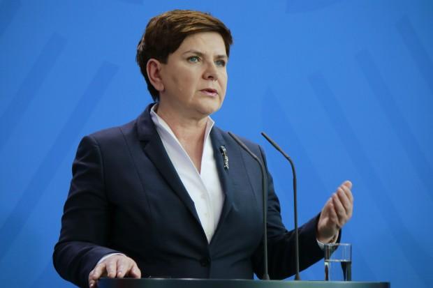 Szydło: KE musi zająć jasne stanowisko wobec budowy Nord Stream 2