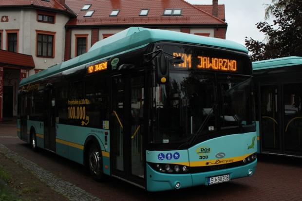 Co trzeci autobus w PKM Jaworzno będzie elektryczny
