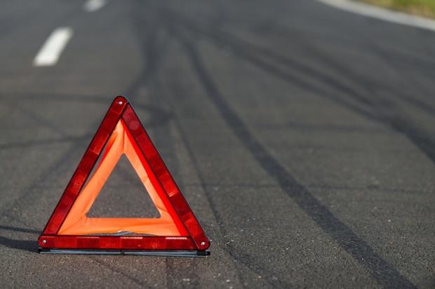 Węgiel przysypał auto na DK86 w Tychach. Zginęła pasażerka