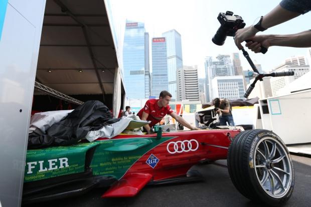 Doświadczony nowicjusz w Formule E