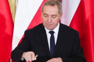 Minister Kowalczyk o rocznym dorobku Ministerstwa Skarbu Państwa
