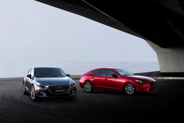 Mazda3 po odświeżeniu