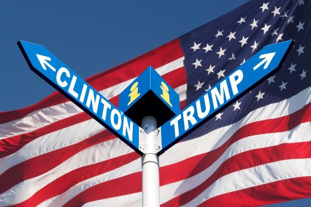 Ostra kłótnia podczas debaty Clinton z Trumpem