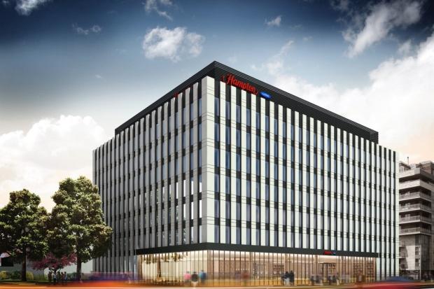 Eiffage wybuduje hotel Hampton by Hilton w Warszawie