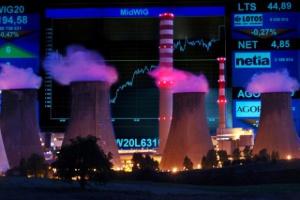 Warszawskie indeksy pod kreską, spółki energetyczne kontynuują spadki