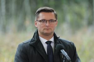 Marcin Krupa, prezydent Katowic. Fot. PTWP (Michał Oleksy)
