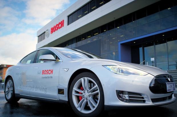 Bosch: samochód kierowcą, kierowca pasażerem