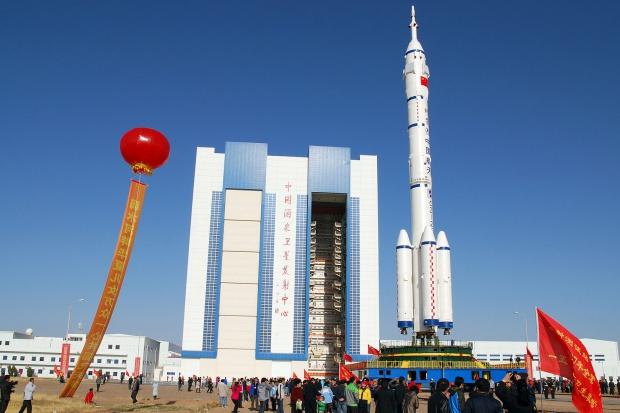 Start chińskiego statku kosmicznego Shenzhou 11