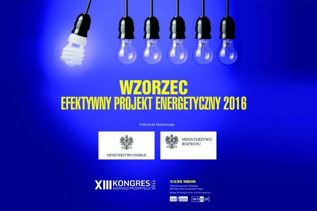 """Konkursowi """"Wzorzec. Efektywny projekt energetyczny"""" patronują ministerstwa"""