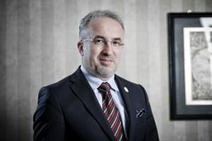 Tomasz Nałęcz, zastępca dyrektora PIG-PIB, dyrektor ds. geoinformacji. Fot. PTWP (Paweł Pawłowski)