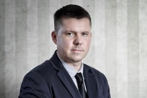 Piotr Gałkowski, koordynator ds. hydrogeologicznych baz danych w PIG-PIB. Fot. PTPW (Paweł Pawłowski)