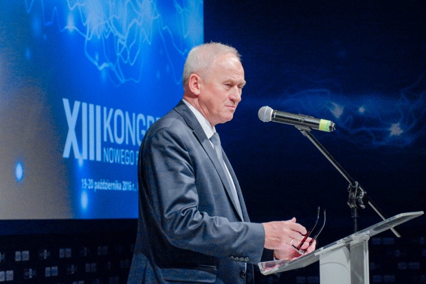 Minister Tchórzewski na Kongresie NP o rynku mocy, celach w energetyce, OZE i naprawie górnictwa