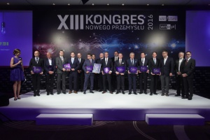 """Kongres NP 2016: wręczenie nagród """"Wzorzec. Efektywny projekt energetyczny"""""""