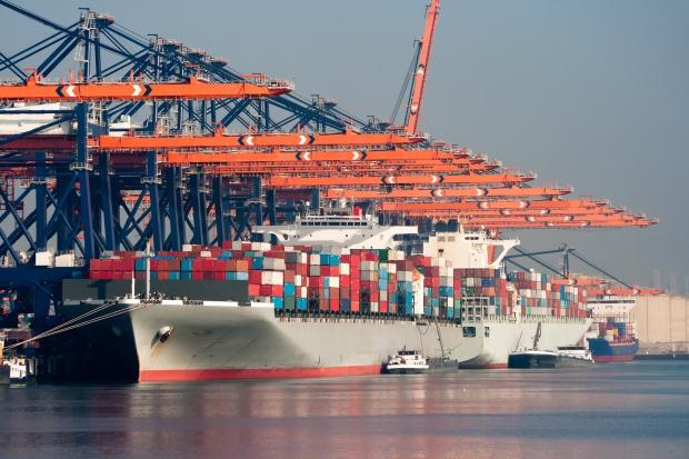 Port w Rotterdamie dostał zadyszki