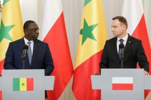 Prezydenci Polski i Senegalu o rozwoju relacji gospodarczych