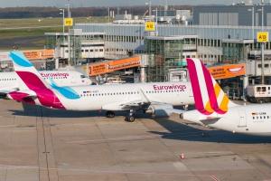 Niemcy. Strajk sparaliżował działalność linii Eurowings i Germanwings