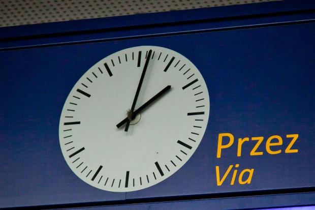Spadła punktualność pociągów pasażerskich