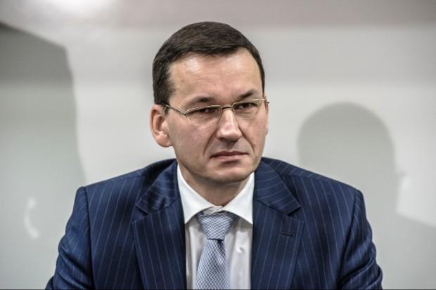 """Morawiecki dla """"FT"""": reformy konieczne, bo brakuje zaufania do sądownictwa"""