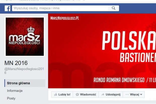 Facebook przywrócił stronę Marszu Niepodległości