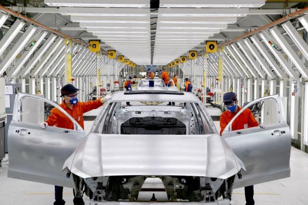 Więcej Volvo z Chin