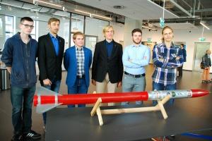 Polscy studenci skonstruowali innowacyjną w skali Europy rakietę