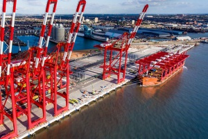 Drugi terminal kontenerowy w Liverpoolu rozpoczął działalność