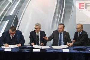 Ostatnie duże umowy w ramach projektu EFRA
