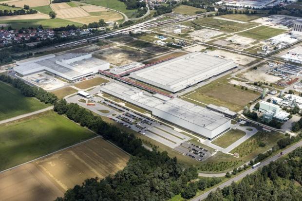 Wysokie tempo fabryki części Audi