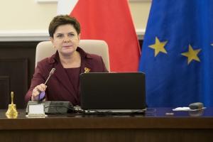 Premier na szczycie UE upomniała się o udział węgla w rynku mocy