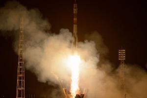 Wystartował Sojuz z trójką nowych członków załogi ISS