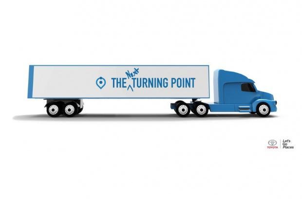 Ciężarówka Toyoty napędzana ogniwami paliwowymi