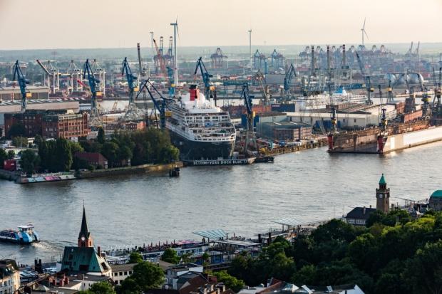 Polska coraz mniej obsługiwana przez port Hamburg