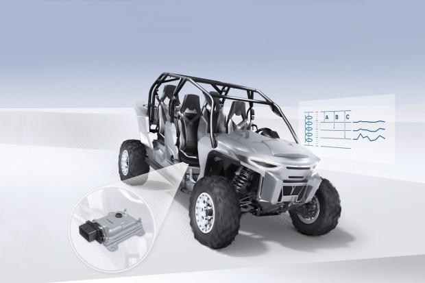 Sterownik Bosch dla półaktywnego zawieszenia
