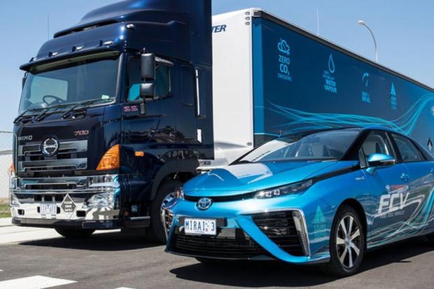 Mobilna stacja tankowania wodoru wg Toyota Australia