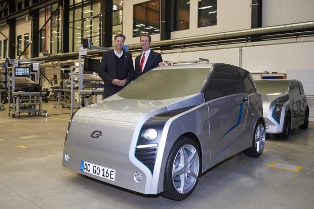 Bosch oraz e.GO Mobile realizują projekt e-samochodu