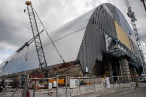Cała konstrukcja waży 36 tysięcy ton. Przewiduje się, że będzie pełnić swą funkcję przez co najmniej sto lat.  Fot. Shutterstock