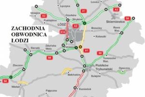 GDDKiA czeka na oferty na S14 - Zachodnią Obwodnicę Łodzi
