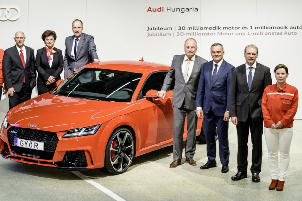 Milionowe Audi Hungaria