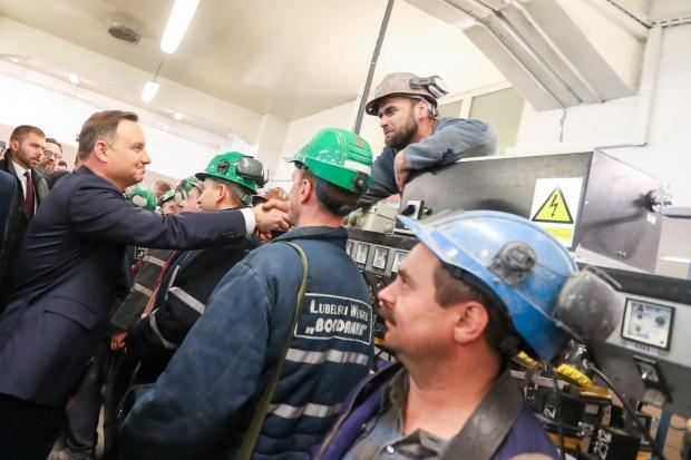 Prezydent: węgiel podstawowym surowcem energetycznym Polski