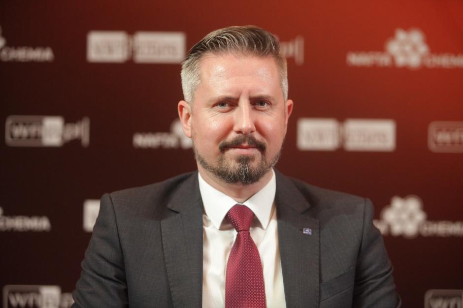 Paweł Stańczyk - prezes zarządu Operatora Logistycznego Paliw Płynnych