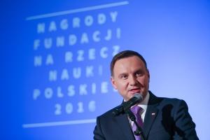 Prezydent: liczę na dwukrotne podniesienie państwowych wydatków na badania i rozwój