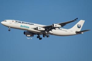 Irańska linia lotnicza na czarnej liście KE