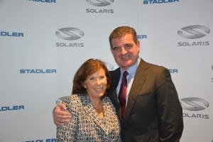 Solaris łączy siły ze Stadlerem w produkcji tramwajów
