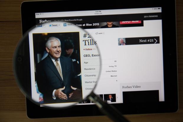Rex Tillerson będzie sekretarzem stanu w gabinecie Trumpa